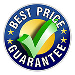 We offer competitive pricing.